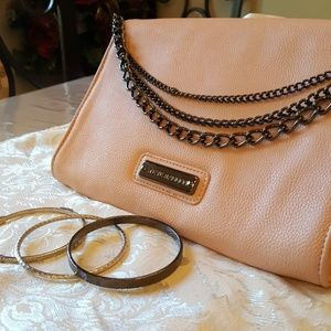 Steve Madden Blush Peach bag Like New!